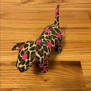 Victoria's Secret pink limited edition cheetah dog